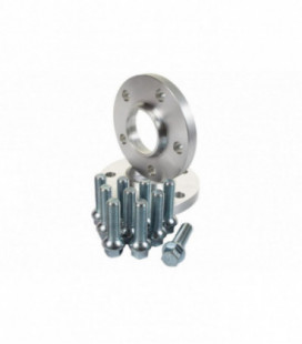 Wheel Spacers 15mm 57,1mm 5x100 Skoda Fabia, Octavia, Praktik, Rapid, Roomster,