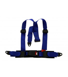"Racing seat belts 3p 2"" Blue - Monza"