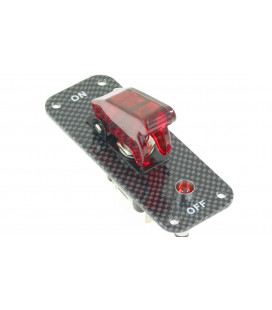 Rally Switch Master 1 Red Carbon