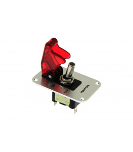 Single rally switch LED RED