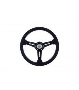 Steering wheel Pro 350mm offset:60mm Leather Black