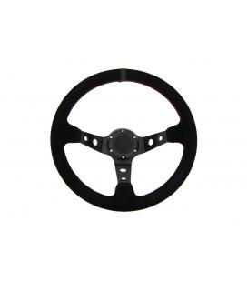 Steering wheel Pro 350mm offset:80mm Suede Black