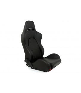 Racing seat DRAGO PVC Black