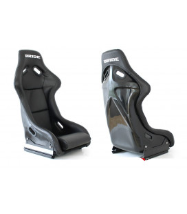 Racing seat EVO BRIDE PVC BLACK