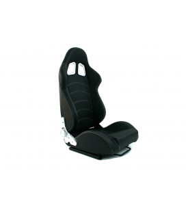 Racing seat MONZA BLAST CARBON BLACK