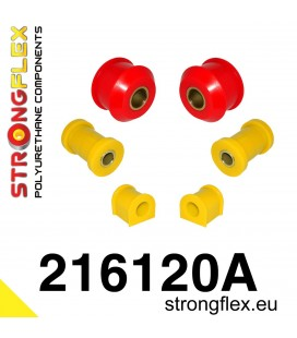 216120A: Front suspension polyurethane bush kit SPORT