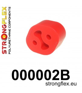 000002B: Exhaust mount hanger 27mm