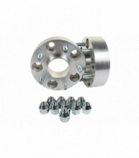 Bolt-On Wheel Spacers 22mm 67,1mm 4x114,3 Mitsubishi Carisma, Colt, Galant, Lancer, Space Star
