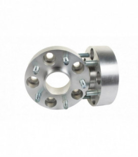 Bolt-On Wheel Spacers 25mm 63,3mm 5x108 Jaguar F-Type, S-Type, X-Type, XF, XK, XKR,