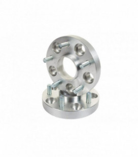 Bolt-On Wheel Spacers 45mm 63,3mm 5x108 Jaguar F-Type, S-Type, X-Type, XF, XK, XKR