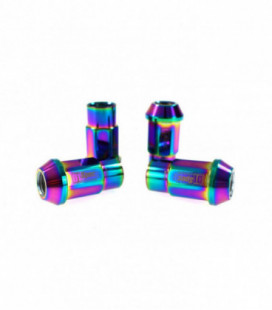 Racing lug nuts D1Spec Heptagon 2in1 12x1.25 Neo