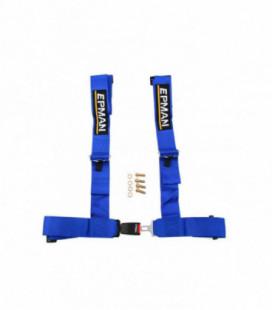 "Racing seat belts 4p 3"" EPMAN Blue"