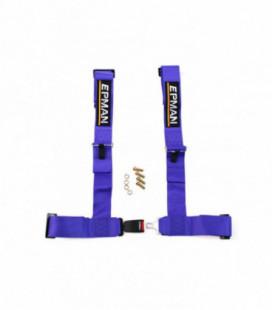 "Racing seat belts 4p 3"" EPMAN Purple"