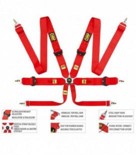 Racing Seat Belts OMP 804SLF FIA