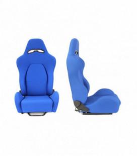Racing seat DRAGO BLUE material