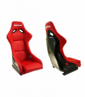 Racing seat EVO Bride PVC RED