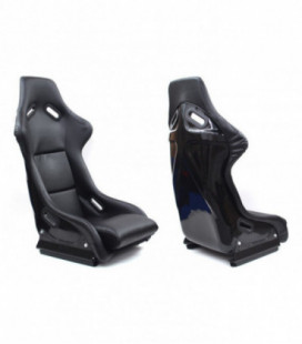 Racing seat EVO PVC BLACK