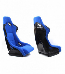 Racing seat EVO WELUR BLUE