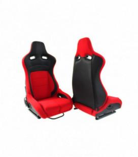 Racing seat Monza Furio Red