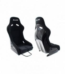 Racing seat SLIDE R1 material Black L