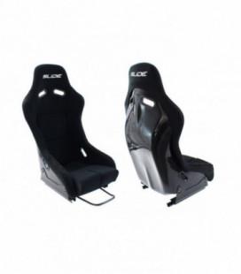 Racing seat SLIDE R1 material Black M
