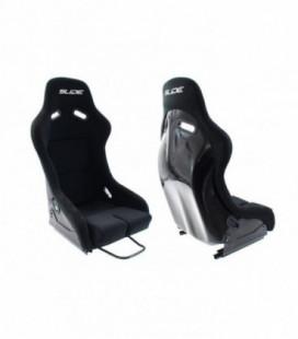 Racing seat SLIDE R1 material Black S