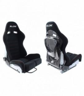 Racing seat SLIDE X3 material Black L