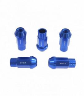 Racing wheel lug nuts JBR 50mm M12 x1.5 BLUE