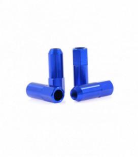 Racing wheel lug nuts JBR 60mm M12 x1.5 BLUE