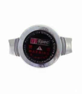 Radiator cap D1Spec 15mm 1.1Bar Silver