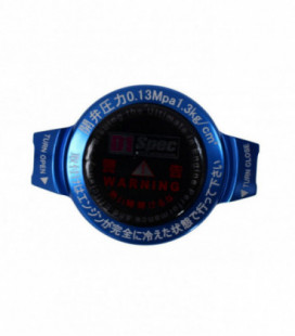 Radiator cap D1Spec 15mm Blue 1.3Bar