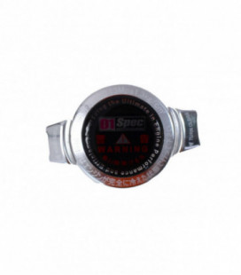 Radiator cap D1Spec 15mm Silver 1.3Bar