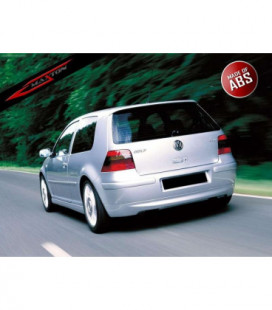 "Galinio bamperio prailginimas VW Golf 4 25""th Anniversary Look (without Exhaust Hole)"