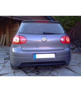 Galinis difuzorius VW Golf 5 GTI Edition 30 (be išmetimo angų, standartiniam išmetimui)