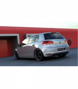 Galinis difuzorius VW Golf 6 With 1 Exhaust Hole