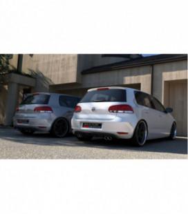 Galinis difuzorius VW Golf 6 With 2 Exhaust Hole
