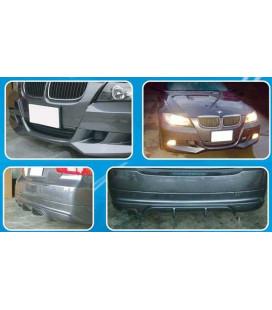 Rear Lip BMW E90 (PU)