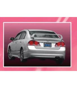 Rear Lip Honda Civic VIII 06 (PU)