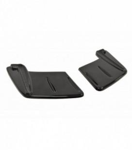 Rear Side Splitters Boczne Mitsubishi Lancer Evo X (Bez dyfuzora)
