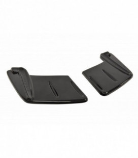 Rear Side Splitters Mitsubishi Lancer Evo X (Without Vertical Bars)