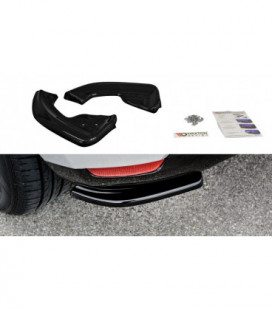 Rear Side Splitters Renault Clio Mk4