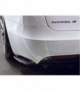 Rear Side Splitters Tesla Model S Facelift
