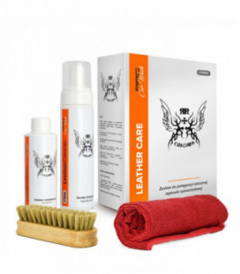 RR CUSTOMS Car Wash LEATHER CLEANER STRONG KIT