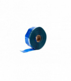 Self-fusing silicone tape TurboWorks 25mm x 0.3mm 3.5m Blue