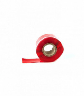Self-fusing silicone tape TurboWorks 25mm x 0.5mm 3.5m Red
