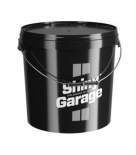 Shiny Garage Bucket 20L Black + Grit Guard