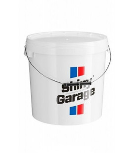 Shiny Garage Bucket 20L White