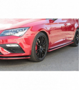SIDE SKIRTS DIFFUSERS v.3 Seat Leon Mk3 Cupra Facelift