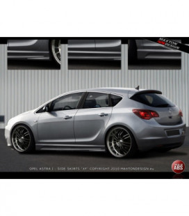 Side Skirts Opel Astra J