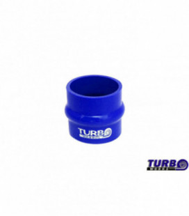 Silicone anti-vibration connector TurboWorks Blue 63mm